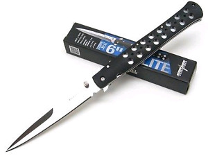 """COLD STEEL Ti-Lite Knife 6"""" brand new with Box."""
