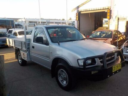 2001 Holden Rodeo TF R9 LX Space Cab White 5 Speed Manual Cab Chassis