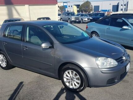 2008 Volkswagen Golf V MY08 Comfortline Grey 6 Speed Manual Hatchback