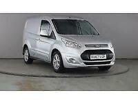 2017 FORD TRANSIT CONNECT 200 TDCI 120 L1H1 LIMITED SWB LOW ROOF PANEL VAN DIESE