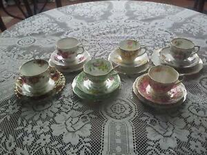 ROYAL ALBERT China 6 sets, cup, with saucer and plate. per set. Collinswood Prospect Area Preview