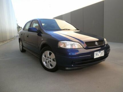 2003 Holden Astra TS MY03 CD Blue Topaz 4 Speed Automatic Sedan