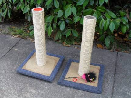 Cat Scratching Post from