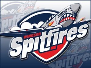 2 Spitfire tickets front row centre ice tonight