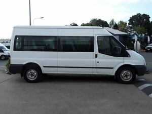 2013 Ford Transit VM MY13 Mid Roof Frozen White 6 Speed Manual Bus Acacia Ridge Brisbane South West Preview