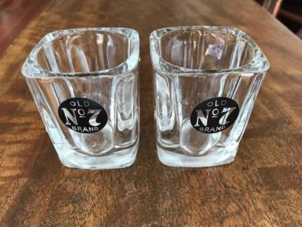 Jack Daniels Shot Glasses Set of 2 - new - perfect gift