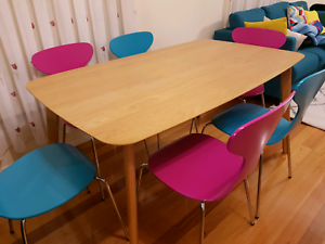 Dining table 6 chairs brand new Roxburgh Park Hume Area Preview