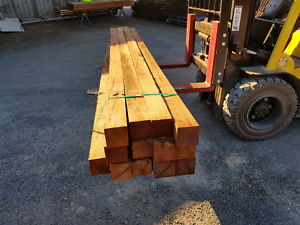100x100 HARDWOOD POST'S Chinderah Tweed Heads Area Preview