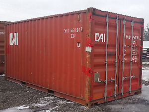 New & Used Storage and Sea Containers for Sale and Rent! 20' and