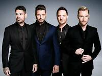 Boyzone Tickets - VIP BLOCK - o2 Arena, London - 7th February 2019