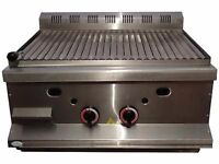 Counter Top Gas Lava Rock Grill LPG LP Panini Rocks it PANINI Toaster Griddle OVEN