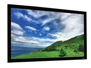 """NEW EluneVision 120"""" Fixed Frame Projector Screen"""