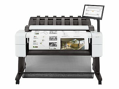 Hp Designjet T2600ps Mfp 36 Wide Format Plotter Engineering Copier Scanner Pdf