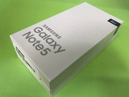 New Sealed Galaxy Note 5 [Two Years Warranty]