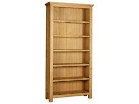 Knightsbridge Large Bookcase - Oak.