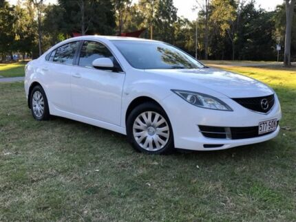 2009 Mazda 6 GH1051 MY09 Limited White 5 Speed Sports Automatic Sedan
