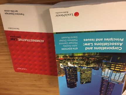 Two second hand law books good condition