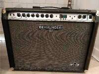 Behringer guitar amp with effects and pedal gx210 ultratwin