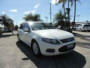 2013 Ford Falcon FG MkII XT White 6 Speed Sports Automatic Sedan Morayfield Caboolture Area Preview