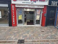 Takeaway Fried Chicken And Pizza Shop For Sale In West Bromwich
