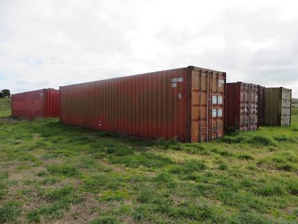Shipping Containers In And Based in Warrnambool, For Sale/Hire,