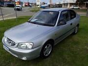 2001 HYUNDAI ACCENT GL LC 3D HATCHBACK 1.5L INLINE 4 5 SP MANUAL Beckenham Gosnells Area Preview