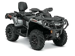 2015 Can-Am Outlander MAX XT 650 Brushed Aluminum