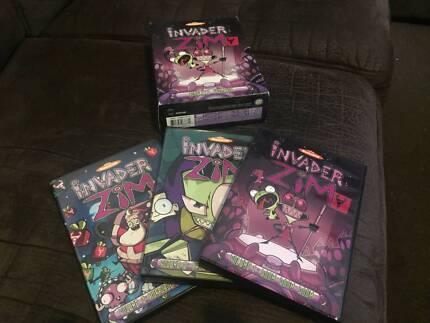 Invader Zim boxed set (DVDs cartoon Nickelodeon Johnen Vasquez)