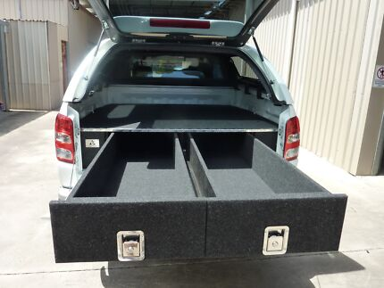 TWIN DRAWER SYSTEM TO SUIT DUAL CAB UTE
