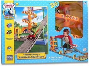 *Thomas & Friends - Thomas & Percy Carnival Adventure TRAIN SET*