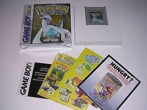 UNOPENED Pokemon Silver GameBoy Colour