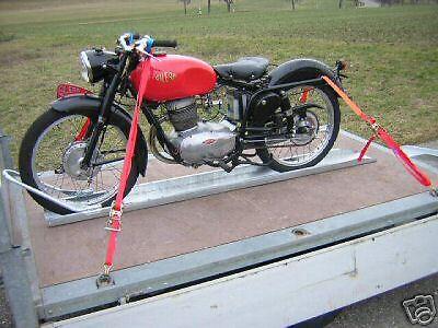 Motorrad Standschiene / Schiene / Motorradschiene