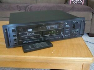 Carver TDR-2400 double cassette deck MINT, with remote,manuals