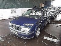 PRICED TO GO ONE OWNER SERVICE HISTORY VOLKSWAGEN GOLF MATCH - 1598cc