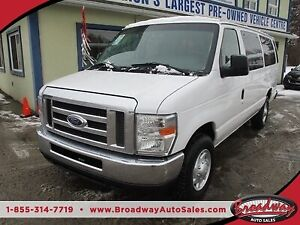 2013 Ford E350 PEOPLE MOVING XL EDITION 15 PASSENGER 5.4L - V8..