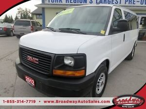2012 GMC Savana 3/4 TON WORK VAN 'PEOPLE MOVER' 12 PASSENGER 4.8