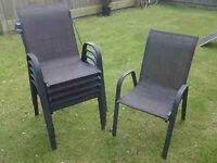 X6 Spirit Garden Chairs. Brand New/unused