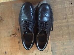 Dockers Leather Black Dress Shoes Hockey 7