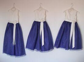 3 x BRAND NEW flower girl dresses