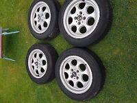 "15"" Mini Alloys with good run flat tyres"