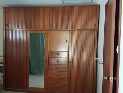 Combination Wardrobe/ Cupboard