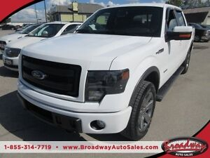 2014 Ford F-150 LOADED FX4 EDITION 5 PASSENGER 4X4.. CREW.. SHOR