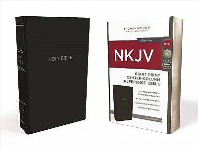 Holy Bible : New King James Version, Black Leatherflex, Giant Print, Center-C...