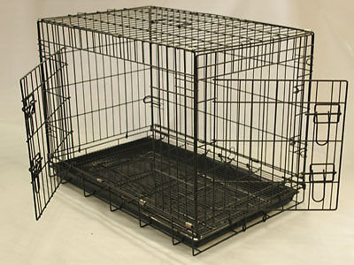 "24"" 30"" 36"" 42"" 48"" COLLAPSIBLE DOG CRATE, ALL SIZE INSTOCK!"