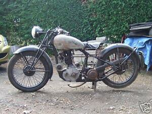 Looking for early non running motorcycle