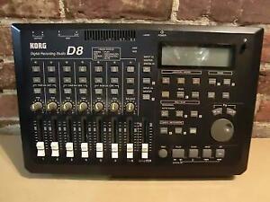 Console d'enregistrement Korg D8 (i015589)