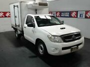 2009 Toyota Hilux KUN16R 09 Upgrade SR White 5 Speed Manual Cab Chassis Cardiff Lake Macquarie Area Preview
