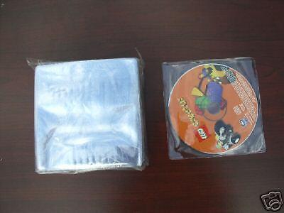 1000 New Clear Cd Dvd Vinyl Pvc Sleeve Js38