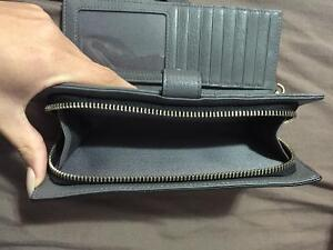 Danier Grey Leather Wallet Brand New! London Ontario image 3