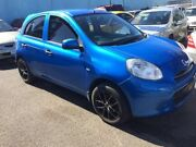 2012 Nissan Micra ST-L Blue 4 Speed Automatic Hatchback Nerang Gold Coast West Preview